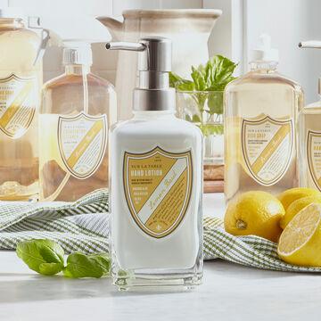 Sur La Table Lemon Basil Hand Lotion, 13 oz.