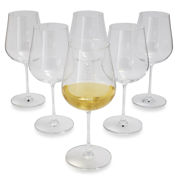 Schott Zwiesel Air Soft-Bodied White Wine Glasses, Set of 6