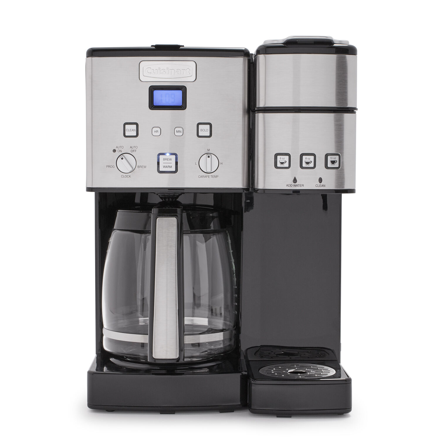 w Filter Programmable CUISINART 12 Cup Two Way COFFEE MAKER K-Cup, Grounds
