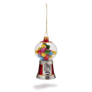 Gumball Machine Glass Ornament