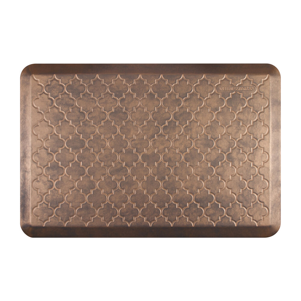Essential Series WellnessMats with Trellis Motif, 3' x 2'
