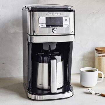Cuisinart Grind & Brew 10-Cup Coffeemaker with Thermal Carafe