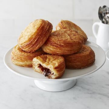Gaston's Bakery Chocolate-Hazelnut Filled Croissants