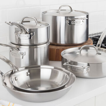Viking Professional 5ply Stainless Steel 10-Piece Cookware Set