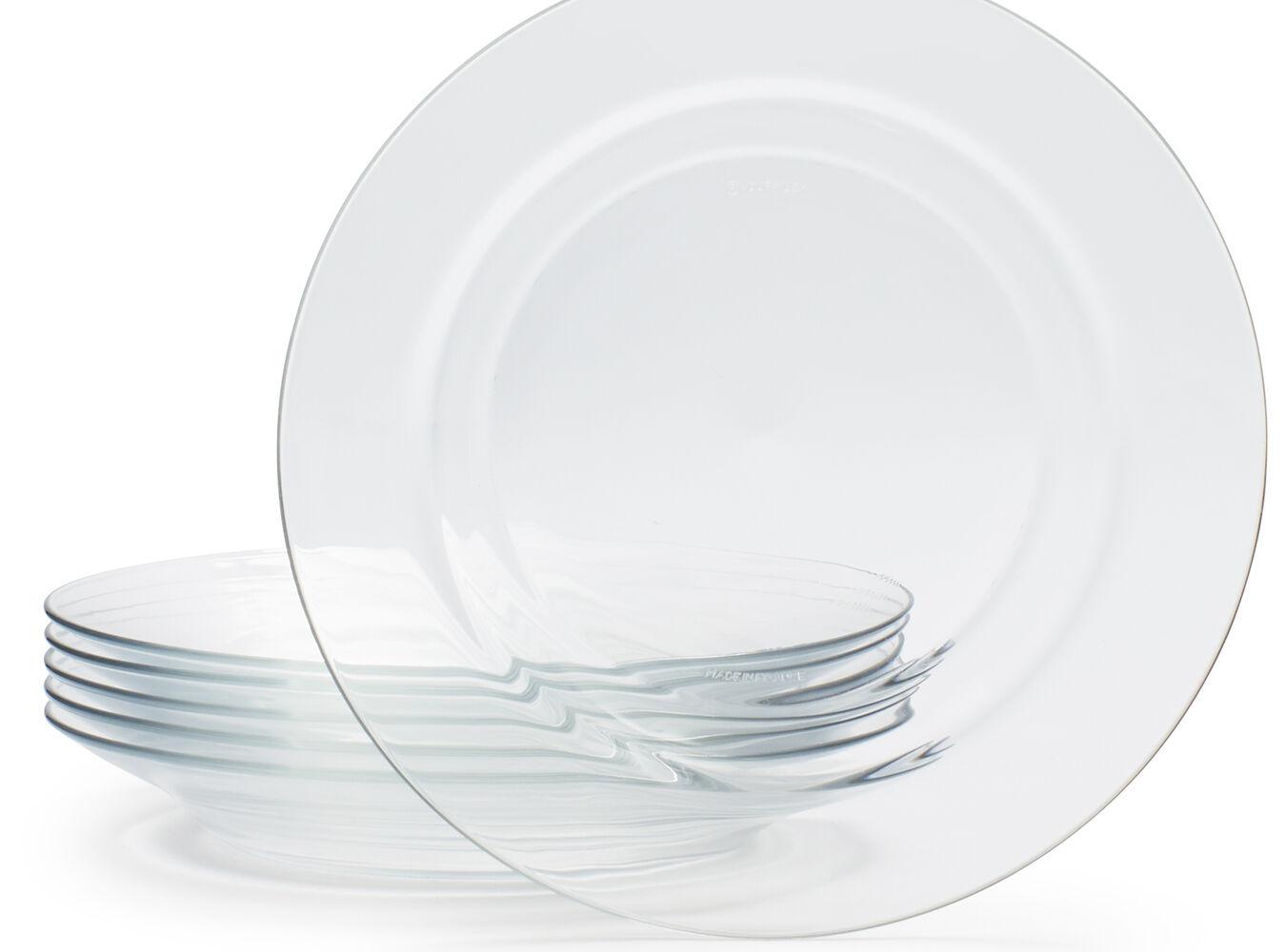 Duralex Lys Soup Plate, Set of 6 | Sur La Table
