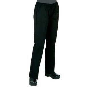 Chef Works Women's Black Chef's Pants
