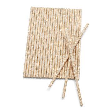 Sur La Table Birch Paper Straws, Set of 25