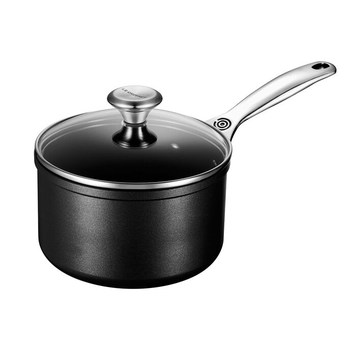 Le Creuset Toughened Nonstick PRO Saucepan with Lid
