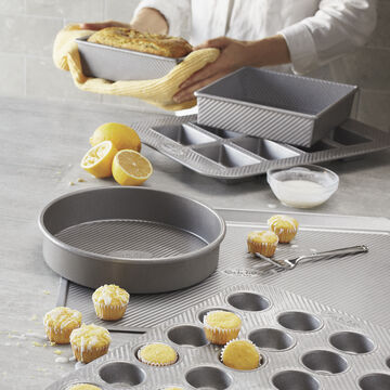 Sur La Table Platinum Pro Mini Muffin Pan, 24 Count