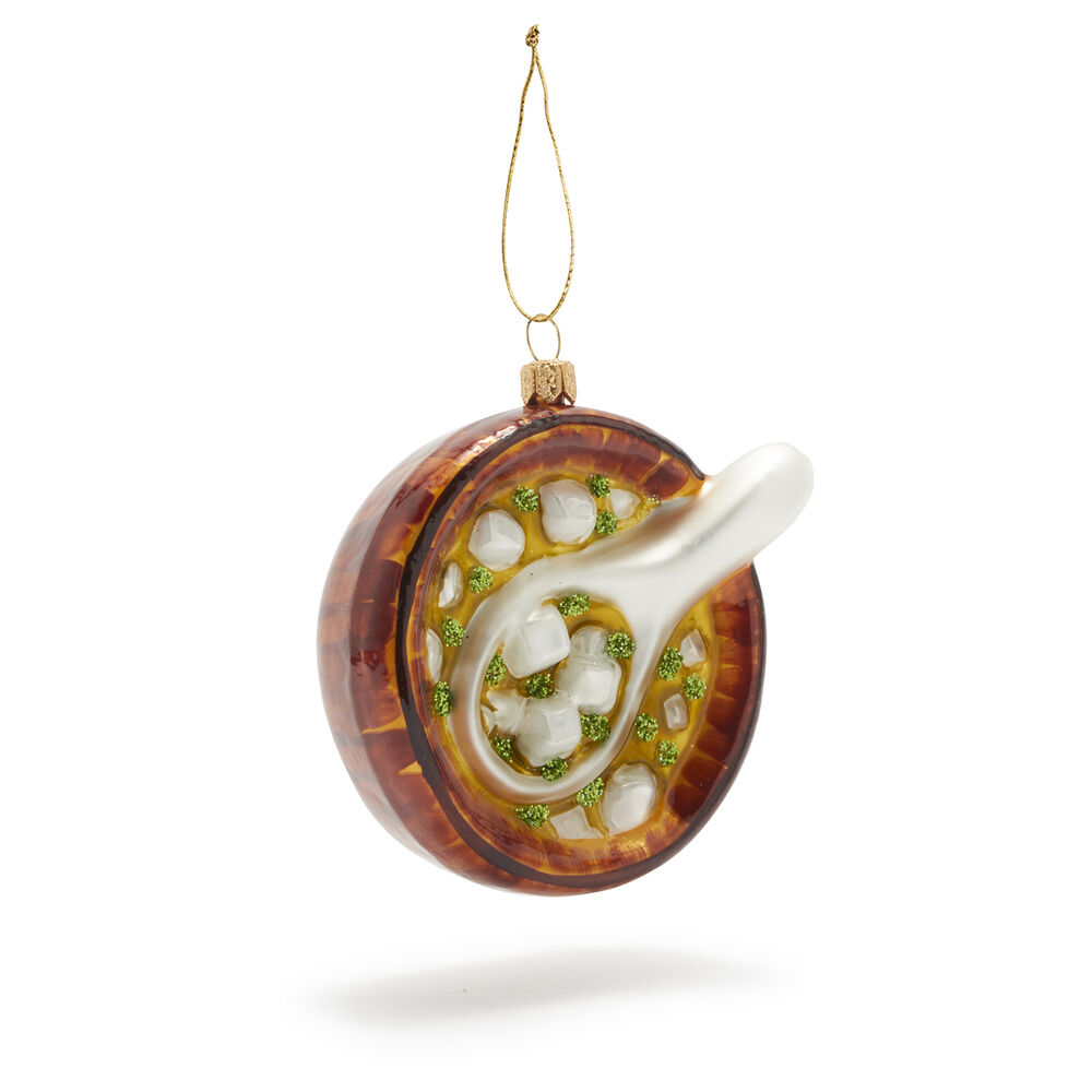 Miso Soup Glass Ornament