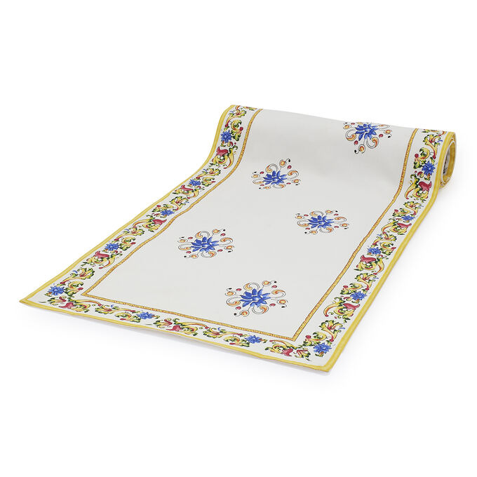 "Floreale Table Runner, 108"" x 16"""