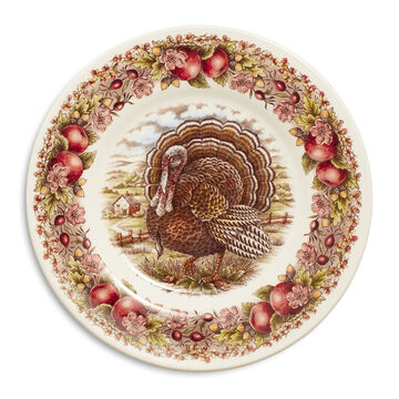 "Royal Stafford Turkey Salad Plate, 8.5"""