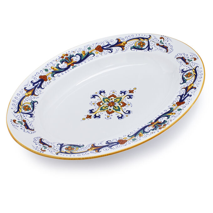 Nova Deruta Oval Serve Platter