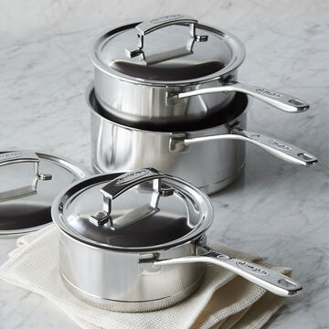 Demeyere Silver7 Covered Saucepan