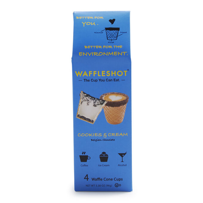 Cookies & Cream Waffleshot