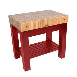 "John Boos & Co. Homestead Block Table, 36"" x 24"" x 34"""