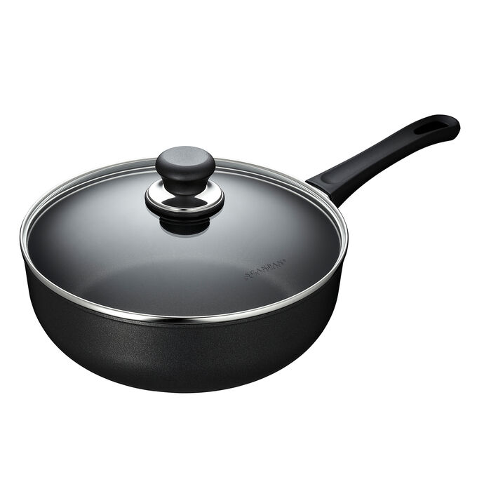 Scanpan Classic Deep Sauté Pan with Lid, 4.25 qt.