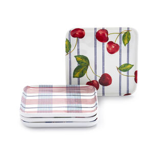 Pique-Nique Melamine Coasters, Set of 4