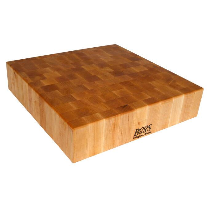 """John Boos & Co. Maple End-Grain Chopping Block, 30"""" x 24"""" x 6"""""""