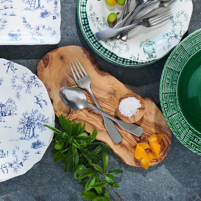 Italian Olivewood Slice Serving Board