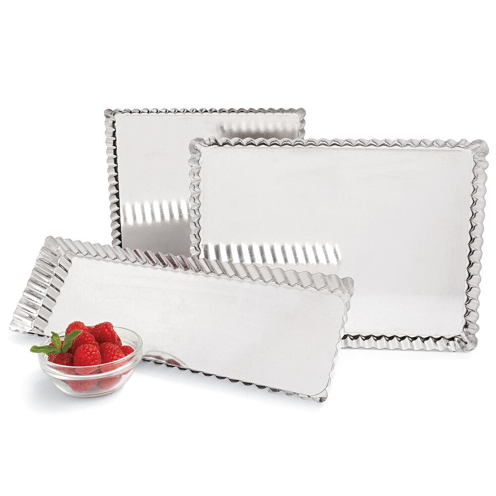 Gobel Tinned-Steel Square & Rectangular Tart Pan