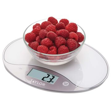 Taylor Oval Digital Kitchen Scale, 11 lb.