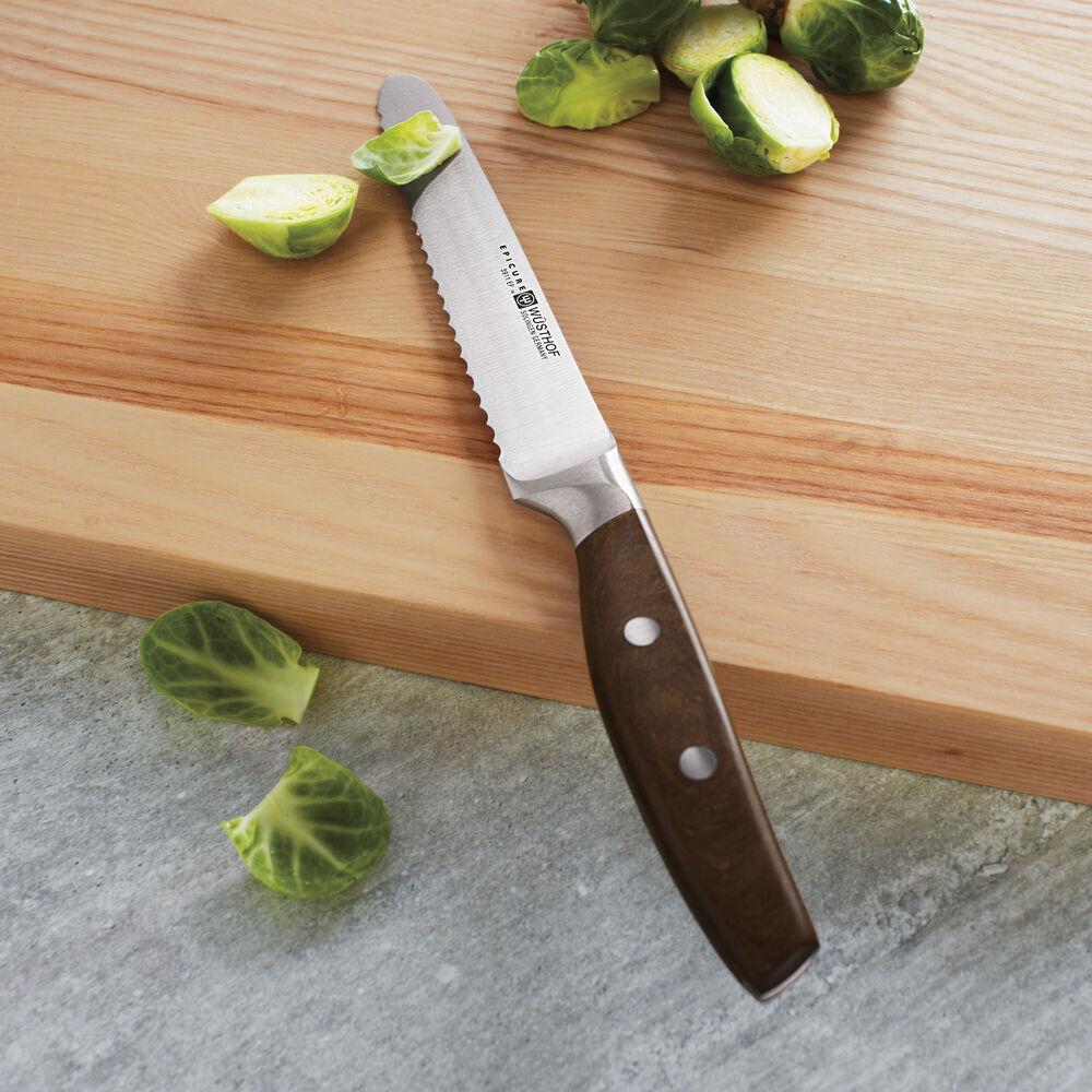 "Wüsthof Epicure Serrated Utility Knife, 5"""