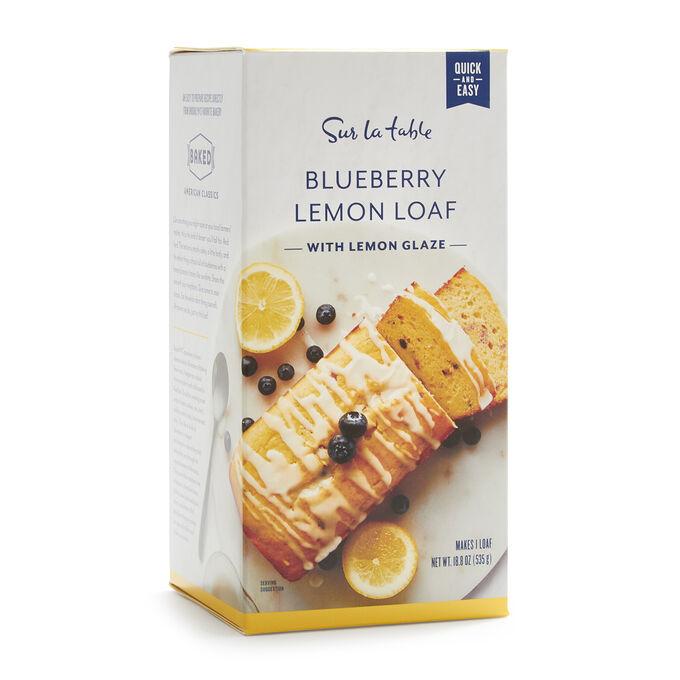 Sur La Table Blueberry Lemon Loaf Mix with Lemon Glaze, 18.8 oz.
