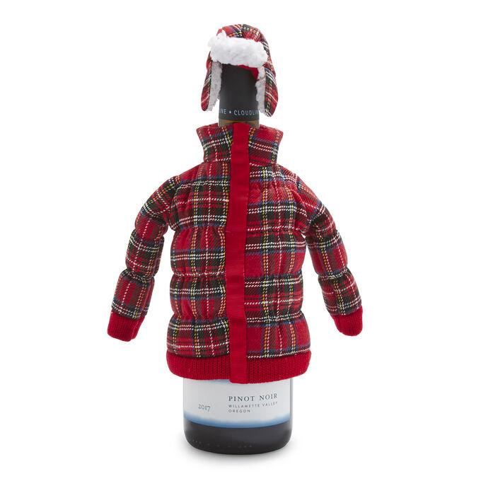 Plaid Bottle Coat
