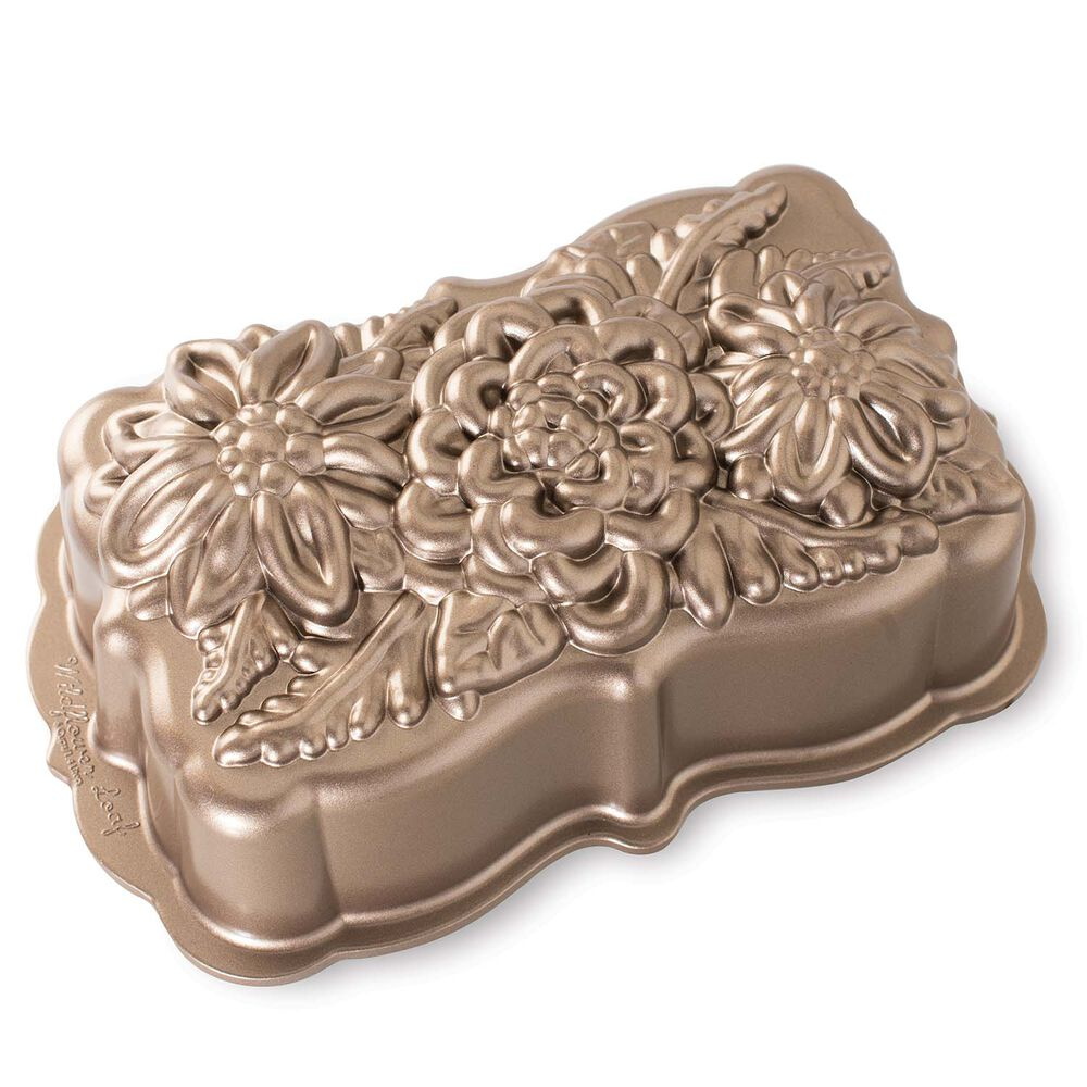 Nordic Ware Wildflower Loaf Pan