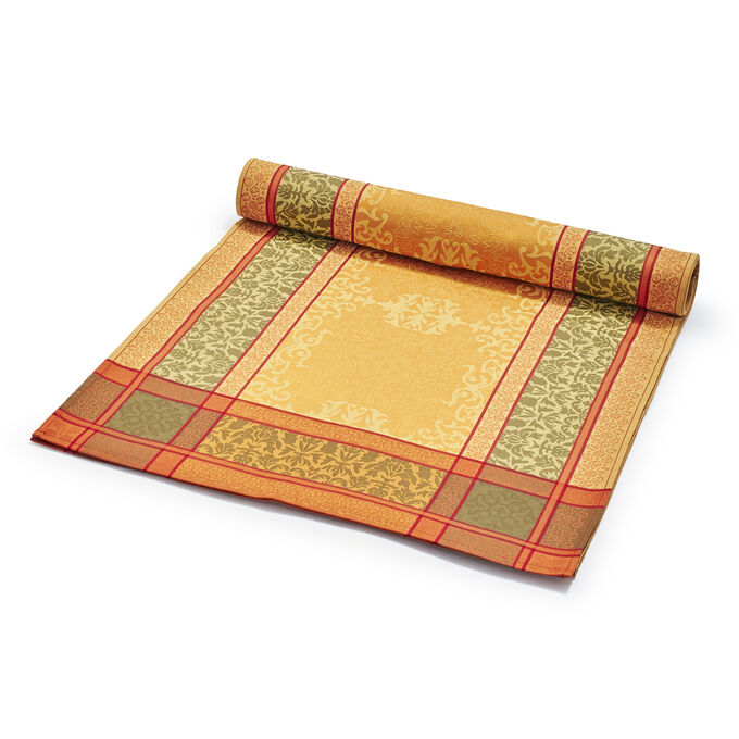 "Damask Jacquard Table Runner, 108"" x 18.5"""