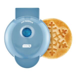 Dash Snowflake Mini Waffle Maker