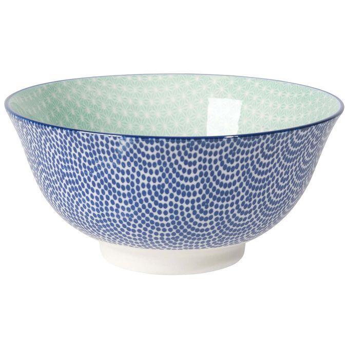 """Stamped Waves Pattern Bowl, 6"""""""