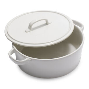 La Marque 84 Oven to Table Round Casserole with Lid, 4.5 qt.