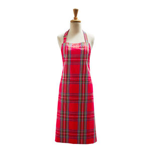 Christmas Plaid Aprons