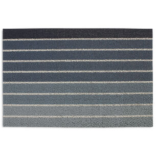 Chilewich Black Denim Shag Mat
