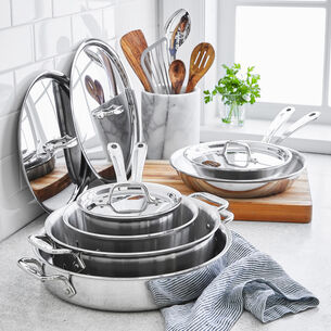 All-Clad d3 Compact 10-Piece Cookware Set