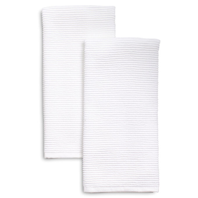 Ribbed Kitchen Towels 30 X 20 Set Of 2