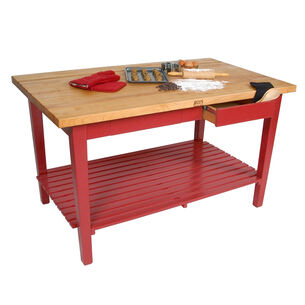John Boos & Co. Classic Country Work Table