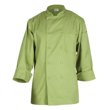 Chef Works Basic Lime Chef's Coat
