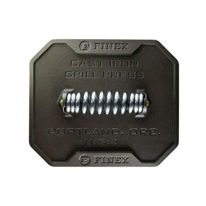 FINEX Cast Iron Grill Press