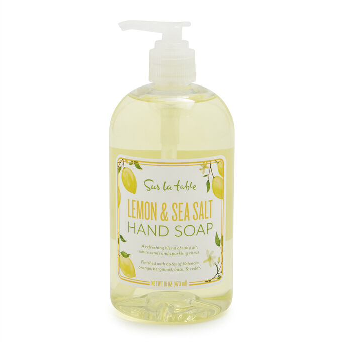 Sur La Table Lemon & Sea Salt Hand Soap, 16 oz.