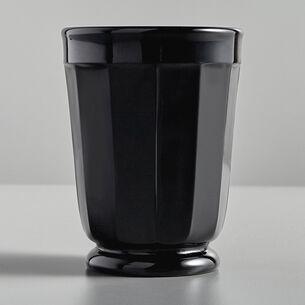 Mosser Black Glass Milk Tumbler, 6 oz.