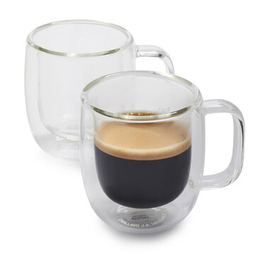 Zwilling J.A. Henckels Sorrento Plus Double-Wall Espresso Glasses, 2.7 oz., Set of 2