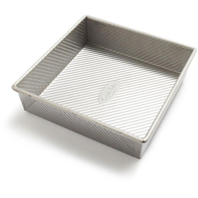 """Sur La Table Platinum Professional Square Cake Pan, 8"""""""