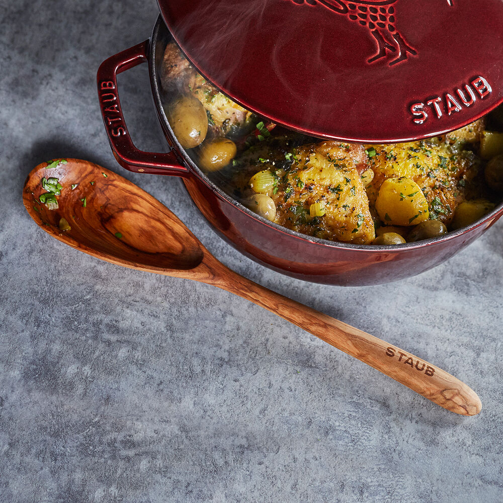 Staub Olivewood Cook's Spoon