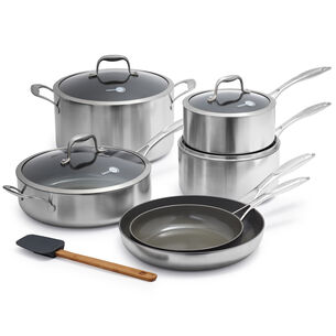 GreenPan Diamond + Evershine 10-Piece Set