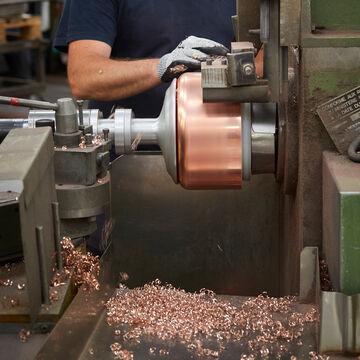Jacques Pépin Limited Edition Copper Oval Dutch Oven, 4 qt.