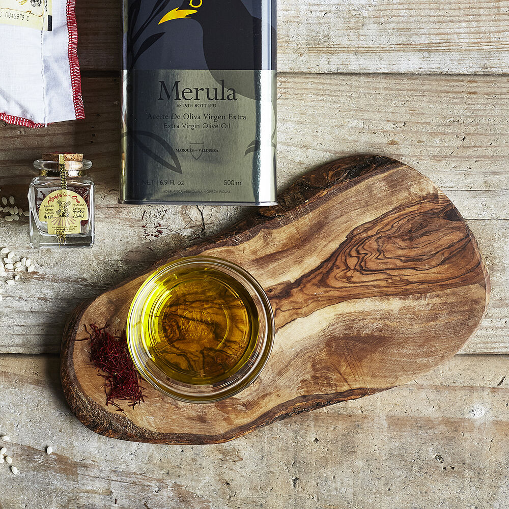 Italian Olivewood Slice Serving Board