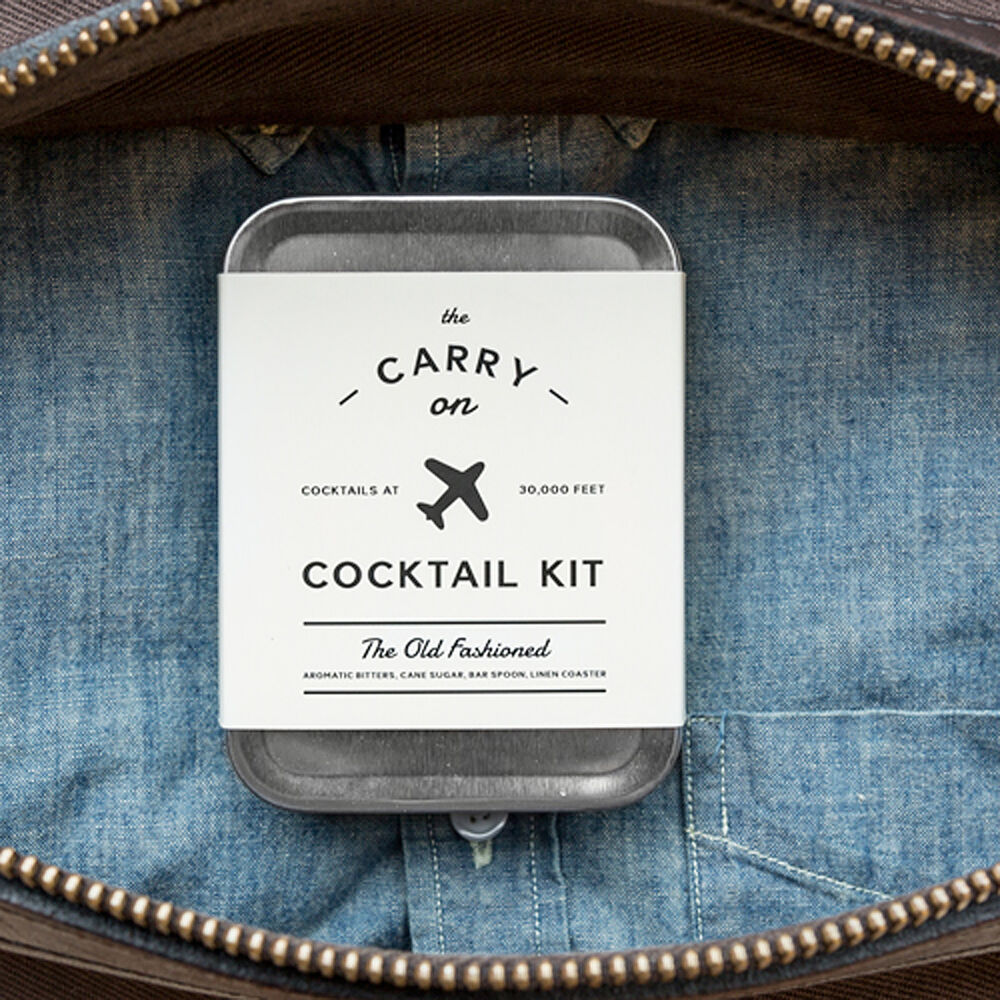W&P Old Fashioned Carry-On Cocktail Kit